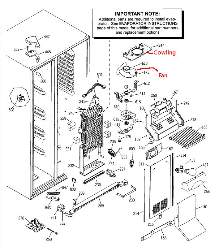 ge refrigerator wiring diagram problem 1954 ge refrigerator wiring diagram